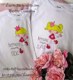 Las cositas de Pepita: Camisetas Pintadas a Mano para las princesas de la...