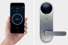 Smart locks and their associated apps allow owners, tenants and landlords to remotely allow access to homes and to track who comes and goes.