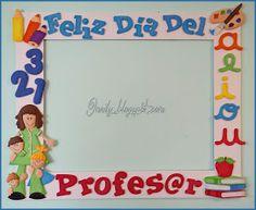 Onaily: MARCO SELFIE DEL DÍA DE PROFESOR Selfies, Teachers' Day, Ideas Para, Paper Art, Preschool, Education, Diy, Frames, How To Take Photos