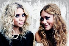 Wish my hair could look like theirs! Gorg <3 OLSEN!