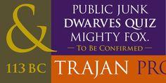 "KaraKreative: Typeface Review: ""Trajan"" April 3rd, 2013."