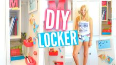 Back To School Tumblr Locker Organization & DIY Decorations!