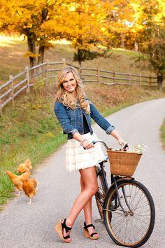 Vintage Rad, passt zum Landleben
