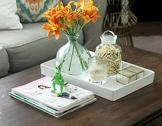coffee table styling ideas