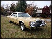 1977 Chrysler Newport  $4,000
