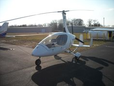 The first gyroplane I flew. It was at Chesapeake Sport Pilot in Stevensville, MD. The Gyroplane is a Autogyro Calidus.  www.chesapeakesportpilot.com
