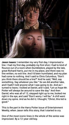Improv in Harry Potter...this is amazing!