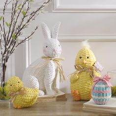 There's nothing that celebrates the Easter spirit quite like bunny rabbits, baby chicks and Easter eggs. Discover Kirkland's entire Easter Decor Collection for even more pastels, burlap and inspirational quotes. Easter Holidays, Happy Holidays, Easter Decor, Easter Crafts, Easter Bunny, Easter Eggs, Paper Wall Art, Bunny Rabbits, Baby Chicks