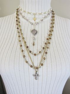 Hey, I found this really awesome Etsy listing at https://www.etsy.com/listing/256099984/layered-boho-chic-style-necklaces