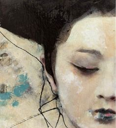 Lita Cabellut - Dried Tear 29 @ Opera Gallery (Singapore)