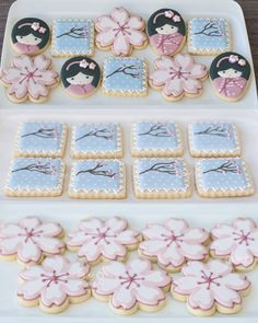 Japanese Theme Parties, Japanese Party, Japanese Wedding, Asian Party Themes, Party Ideas, Baby Birthday, Birthday Parties, Cherry Blossom Party, Japanese Birthday