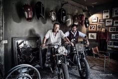 Sumisura Garage - Pin by Corb Motorcycles #lifestyle #motorcycles #motos | caferacerpasion.com
