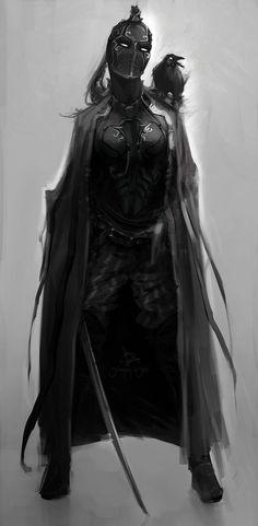 Vestimenta do Véu das Sombras