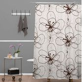 Found it at AllModern - Rachael Taylor Polyester Tonal Floral Shower Curtain
