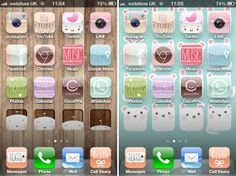thegluegungirl: How to use cocoppa & change iPhone icons (because it's so cute!)