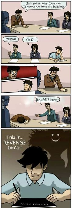 This is REVENGE! #DeathNote style :p lool