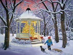 'Christmas Magic' by John Sloane