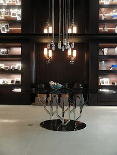 Christofle New York flagship store by Stephane Parmentier and another one to be seen at the Interiors London from 19-21 May 2013.