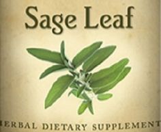 SAGE LEAF Tincture Tonic for immune & Digestive Function Help Stress Wounds Oral Health Menopause Supplement Traditional Herb Health