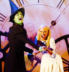 "All other renditions of ""For Good"" and ""Defying Gravity"" from Wicked are merely imitations of Idina Menzel and Kristin Chenoweth."