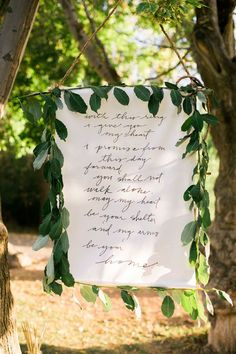 stylish green and white wedding sign decor ideas