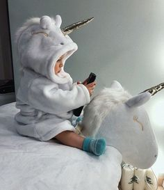 Riding the unicorn Riding the unicorn - Cute Adorable Baby Outfits Little Babies, Little Ones, Cute Babies, Baby Kind, Baby Love, Foto Baby, Cute Baby Pictures, Everything Baby, Beautiful Babies