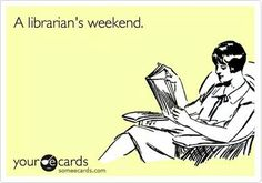Any book lover's ideal weekend!