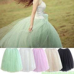 5c768a724 Buy Womens Lace Adult Tutu Skirt 5 Layers Voile Tulle Skirt Bouffant Long  Puffy Skirt Autumn Ball Gown Pleated Midi Skirts at Wish - Shopping Made Fun