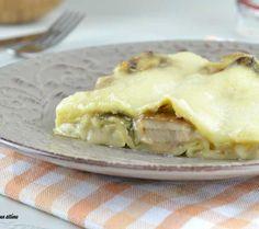 Le lasagne ai funghi sono un primo piatto cremoso e dal gusto veramente irresistibile; sono ideali da gustare nel periodo autunnale o in quello invernale.