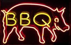 BBQ HOME LOGO GLASS NEON LIGHT BEER BAR PUB SIGN S24