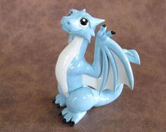 Blue Wyvern by *DragonsAndBeasties