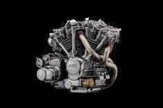 Mugen Debuts V-Twin Engine Concept - Asphalt & Rubber Motor Engine, Motorcycle Engine, Cafe Racer Motorcycle, Car Engine, Vincent Motorcycle, Honda, Engineering Works, Hd Motorcycles, Bike Details