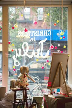 Pink Olive - Cute Kids' Store in NYC  Gorgeous Window Display by @Glitter+Rye