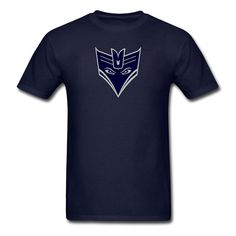 Seahawks Decepticon Logo / Blue with Wolf Gray by BrandonBaselice