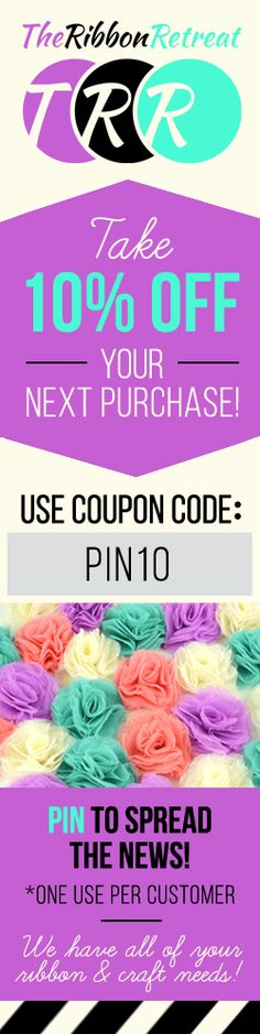 We offer hundreds of options for elastic ribbon, including headbands, lace, and much more. Visit us today to find out about special elastic ribbon discounts! Ribbon Wreath Tutorial, Flower Tutorial, Ribbon Garland, Skirt Tutorial, Elastic Ribbon, Ribbon Hair Bows, Boutique Bow Tutorial, Kids Art Smock, Ribbon Retreat