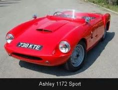 Ashley 1172, doubtless built on the very popular Ford E93A chassis and running gear. Tuning equipment was available for the 1172 cc side valve engine, through companies such as Aquaplane, suspension improvements by L.B.Ballamy.