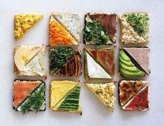 6 идей для полезных и очень вкусных бутербродов? | Школа красоты