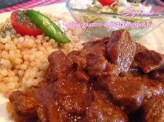 Hungarian Recipes, Chana Masala, Favorite Recipes, Sweets, Dishes, Chicken, Meat, Ethnic Recipes, Food