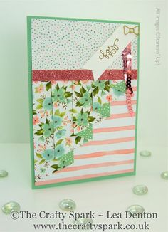 Birthday Bouquet DSP, Blushing Bride Glimmer Paper, It's a Party Paper Stack 12 x 12, #stampinup