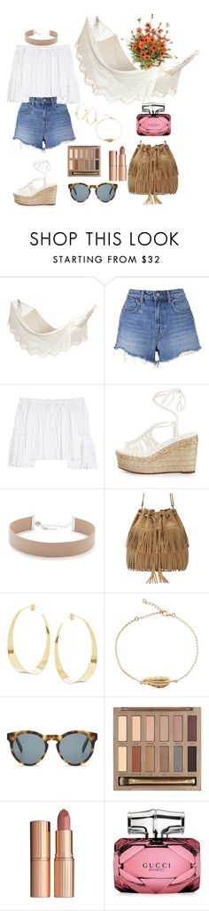 """🍹"" by laluna7 ❤ liked on Polyvore featuring Bloomingville, T By Alexander Wang, Carolina Herrera, Chloé, Jennifer Zeuner, Lana, DICK MOBY, Urban Decay, Charlotte Tilbury and Gucci"