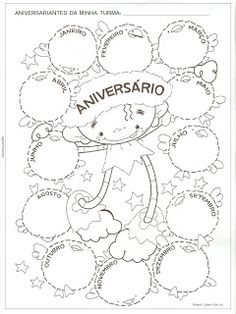 ♥ Sorvete Colorê ♥: Projeto Quem Sou eu? Primary Activities, Primary Maths, Spanish Lessons, English Lessons, Coloring Books, Coloring Pages, School Games, School Decorations, Too Cool For School