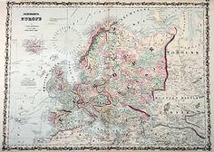 Johnson's Europe Map