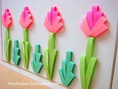 Combing two tone flowers