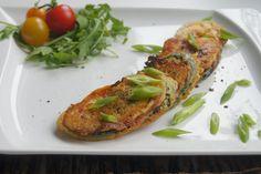 Herzhafte Zucchinischeiben - Vegan einfach