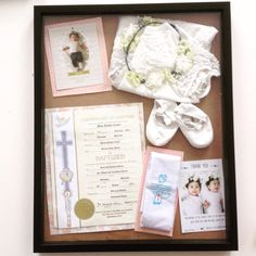 Baptism Shadow Box