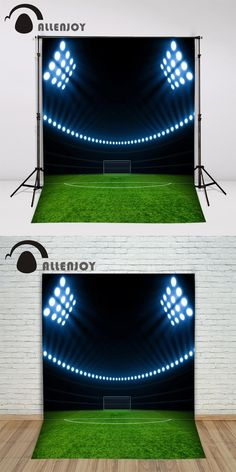 Vinyl photo studio background Football game green sport backdrop picture children's photocall