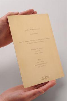 Liberty Renaissance Invite - Portrait