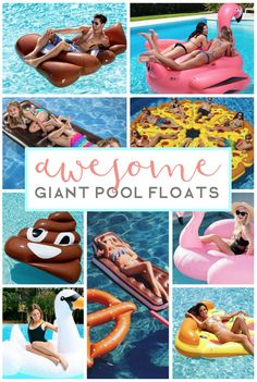 Pool floats are a great way to make your summertime fun really come alive. When you play in the pool, it is easy to get bored without a fun inflatable to help you stay afloat and give you hours of endless enjoyment! Check it out