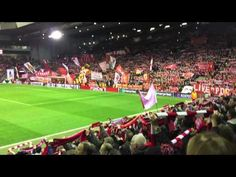My Relegion -great rendition of the anthem You'll Never Walk Alone Liverpool v Man UTD