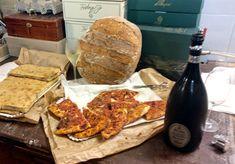 #colazione di lavoro... #pizzadicagnano e #bollicine #daraprì #enjoydarapri